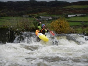Testing the new boat, Jill's Folly, R Duddon